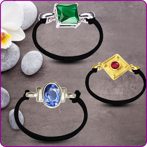 Gem Bracelet in Gold-Silver