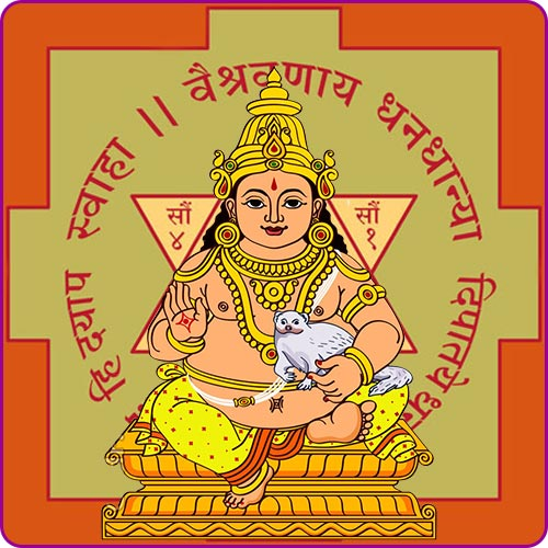Lord Kuber Chalisa in Hindi and English