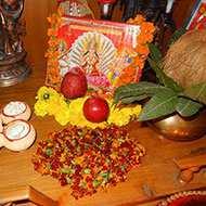 Hindu Puja Altar