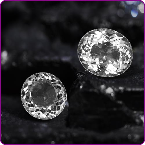 White Topaz Gemstones