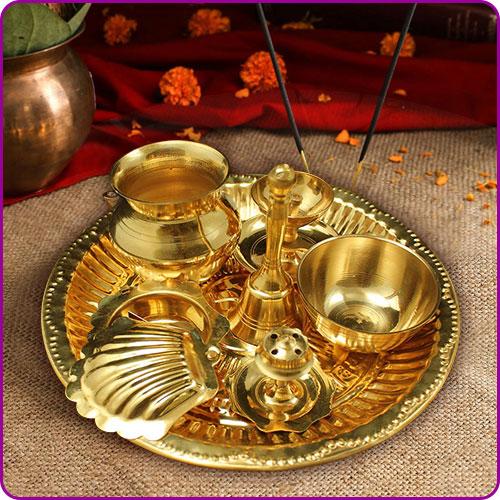 Brass Pooja Items