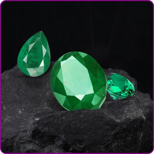 Emerald Gemstone (Panna)