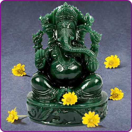 Gemstone Deity Idols