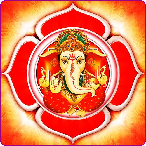 Ganesh: The god of Root Chakra