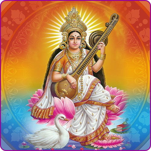 Goddess Saraswati: Names, Festival & Symbols