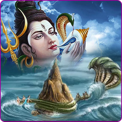 Lord Shiva and Vasuki Story