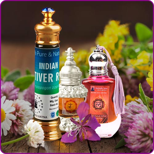 Natural Essential and Chakra Oils, Water and Attar & Their Usage