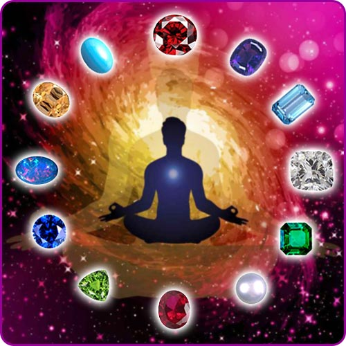 Relationship between Gems and Human Body