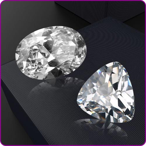 White Sapphire (Safed Pukhraj) Gemstone