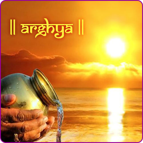 Why We Offer Arghya to Surya