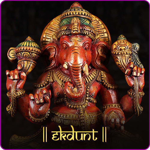 Why has Ganesh one broken tooth? How did Ganesha become Ekdunt, one-tusked?