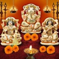 Laxmi Ganesh Saraswati Pujas