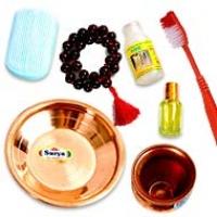 Rudraksha Cleaning Items