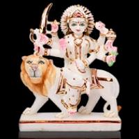 Maa Durga Marble Idols