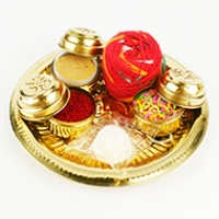 Puja Thali for Rakhi