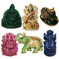 Gemstone Idols of Gods