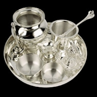 Pure Silver Puja Articles