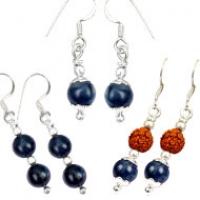Blue Sapphire Earings
