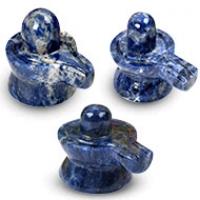 Blue Sodalite Shivaling