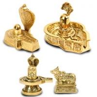 Brass Shivalinga