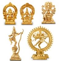 Bronze Idols of Gods and Goddesses
