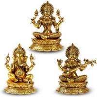 Ganesh Laxmi Saraswati Idols