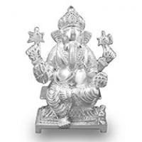 Ganesha Silver Idols