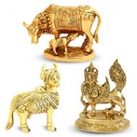 Gaumata, Kamdhenu idols
