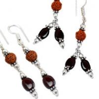 Gomed Hessonite Earrings