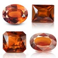 Hessonite Garnet Stone (Ceylon Gomed)
