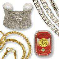 Spiritual Gifts Silver and Gold Jewellery