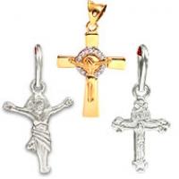 Jesus Cross Pendants