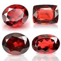 Red Garnet Stone - Ceylon