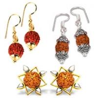 Rudraksha Earrings