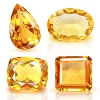 Yellow Citrine Stone