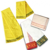 Cotton Dhotis with Shawls