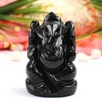 Ganesha (Black Agate)