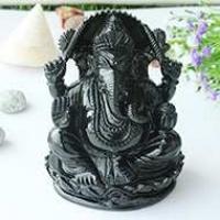 Ganesha (Black Jade)