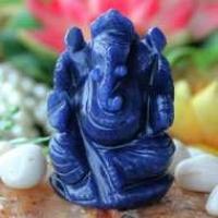 Ganesha (Blue Aventurine)