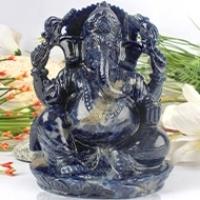 Ganesha (Blue Sodalite)