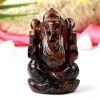 Ganesha (Mahogany Obsidian)