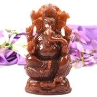 Ganesha (Red Aventurine)