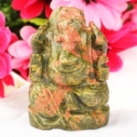 Ganesha (Unakite)