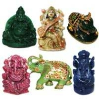 Gemstone Idols of Gods