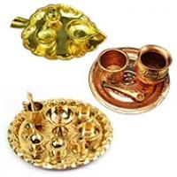 Decorative Pooja & Aarti Thali