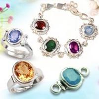 RRST Gemstone bracelets and rings