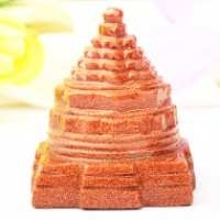 Shree Yantra in Sunstone