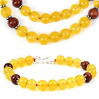 Yellow Jade Bracelets