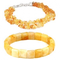 Yellow Citrine Bracelet