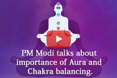 PM Modi talk on Aura and Energy Healing